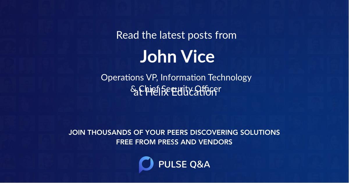 John Vice