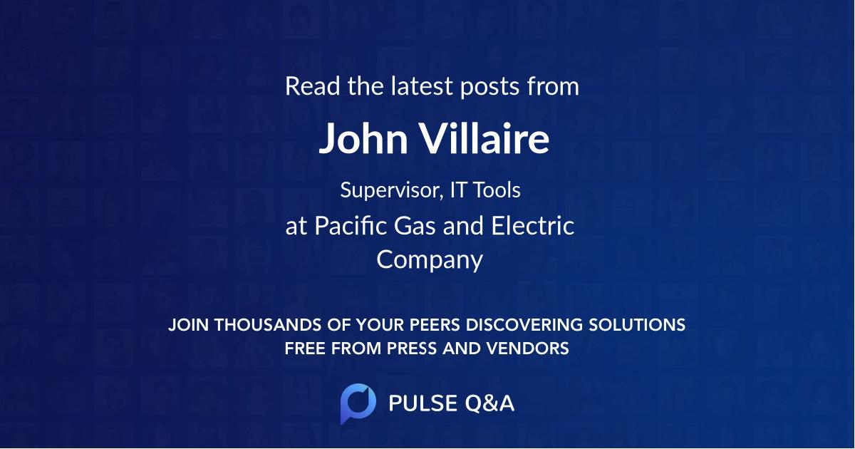 John Villaire