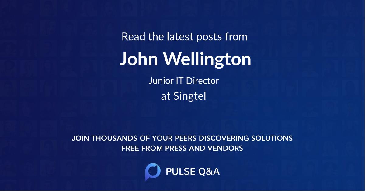 John Wellington