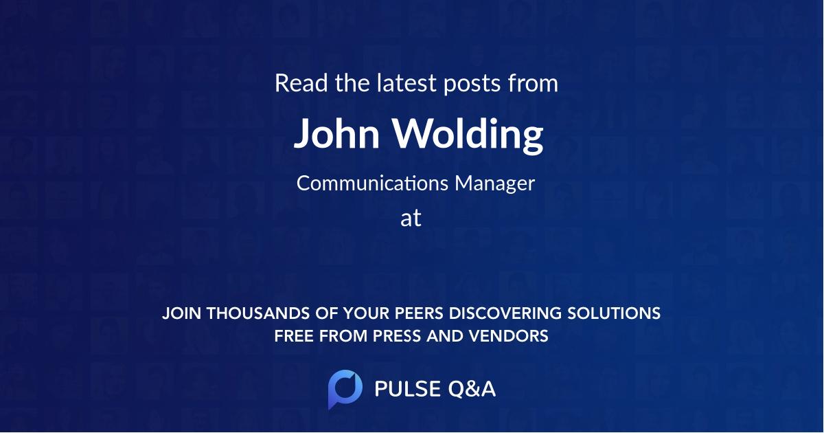 John Wolding