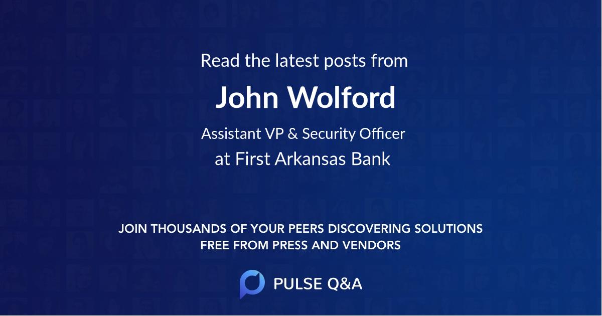John Wolford