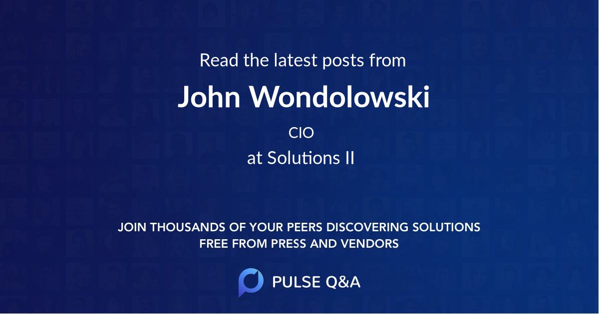 John Wondolowski