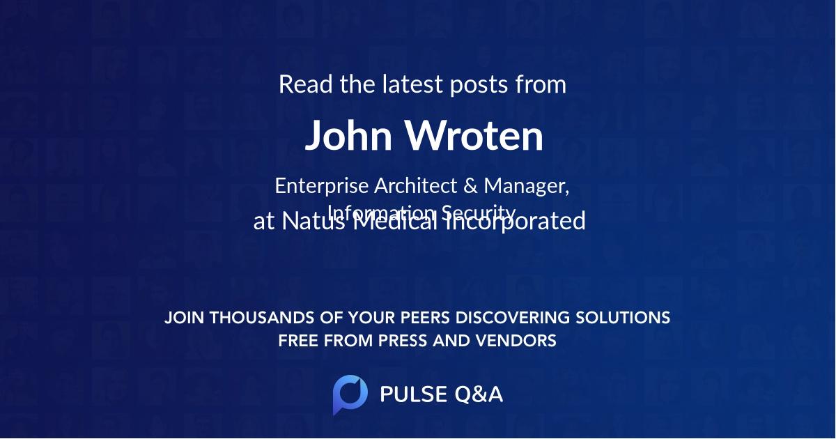 John Wroten