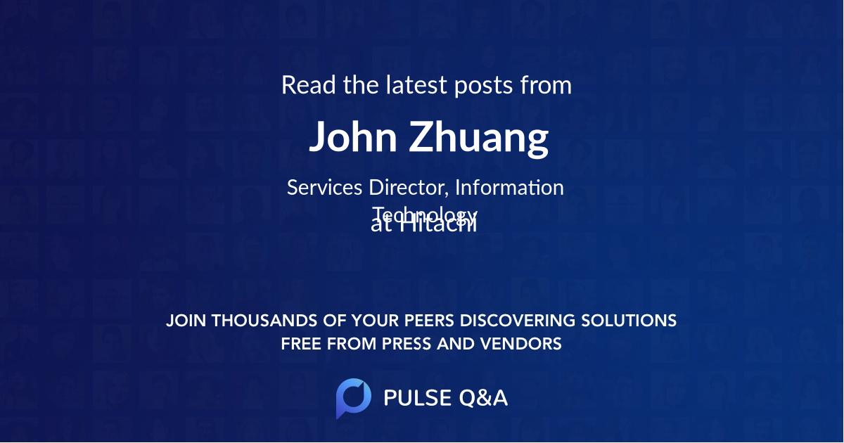 John Zhuang