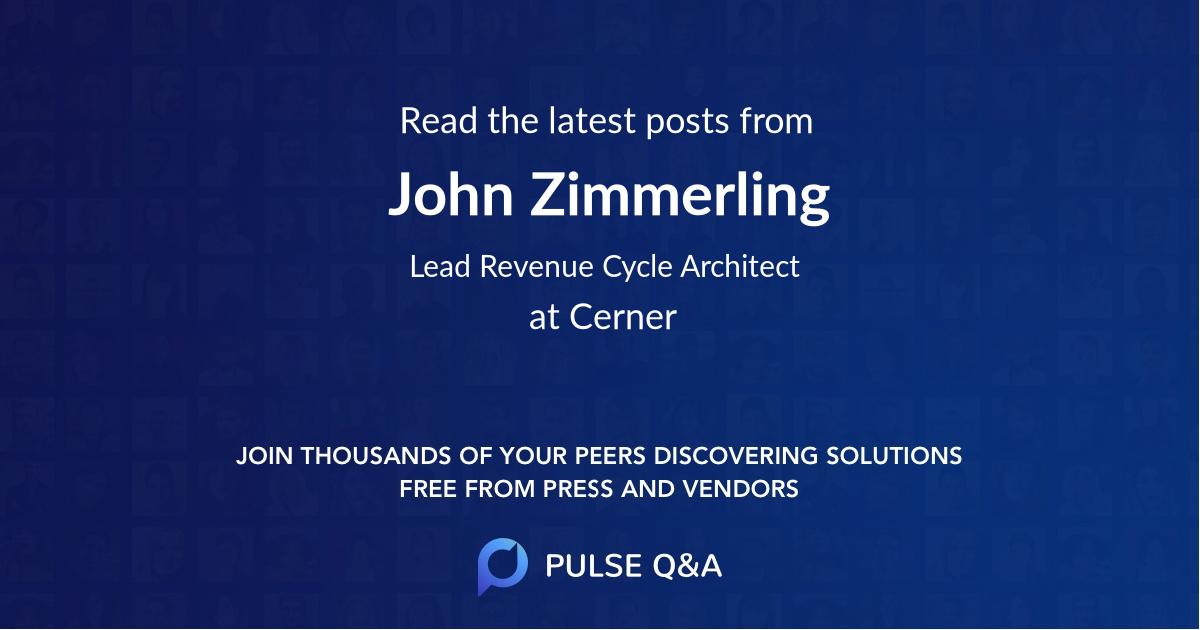 John Zimmerling