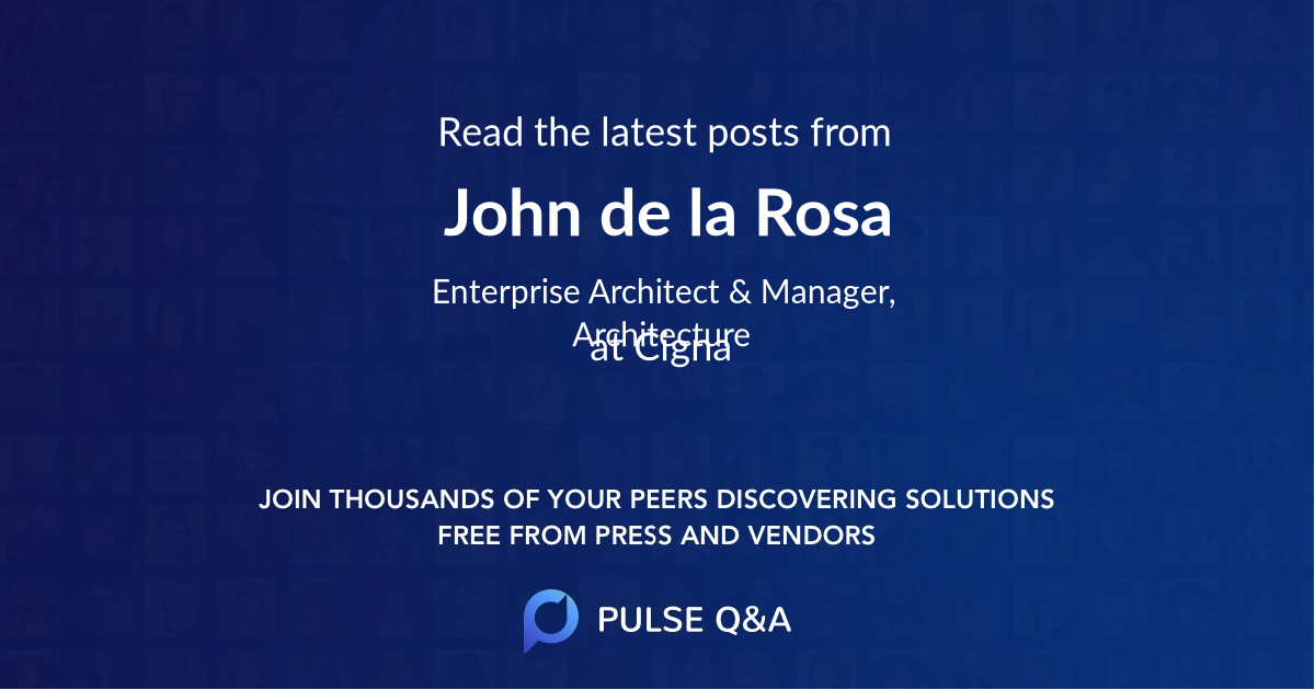 John de la Rosa