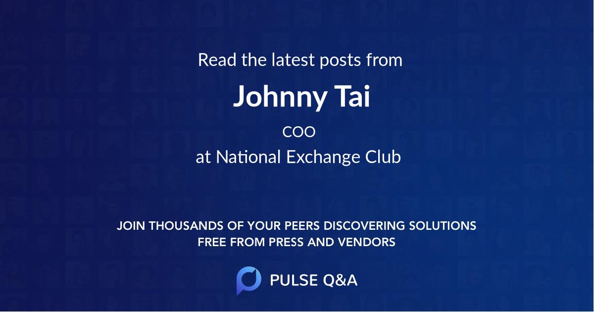 Johnny Tai