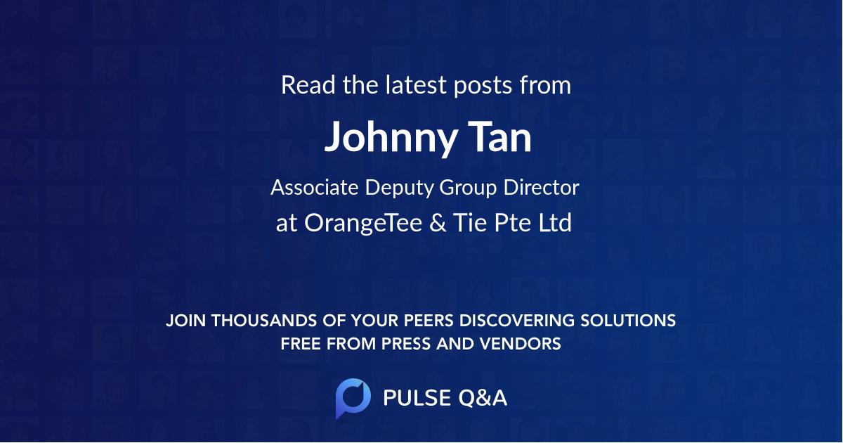 Johnny Tan