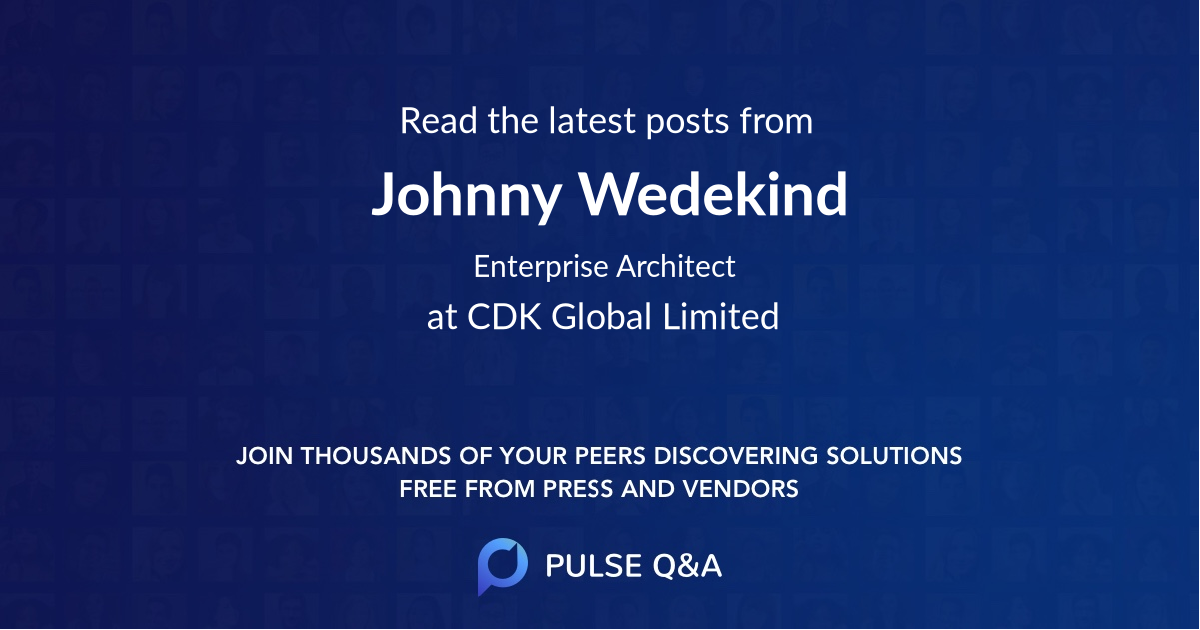 Johnny Wedekind