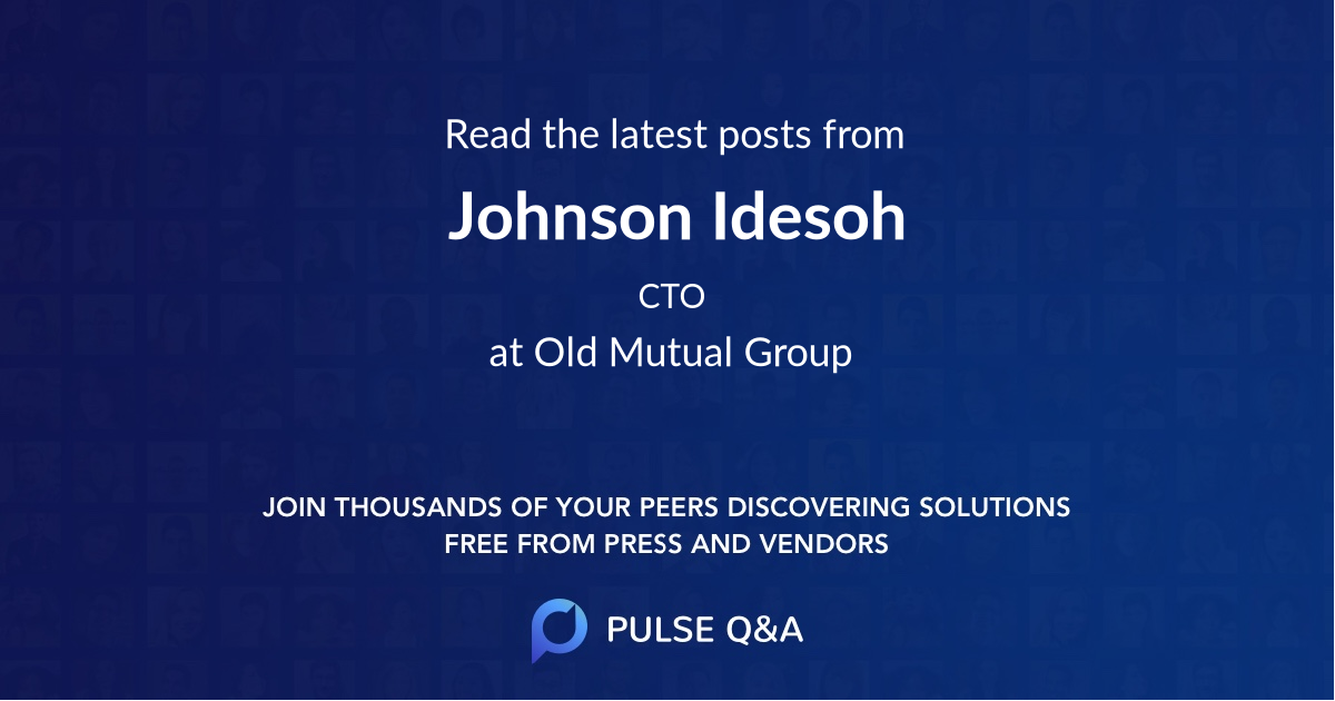 Johnson Idesoh