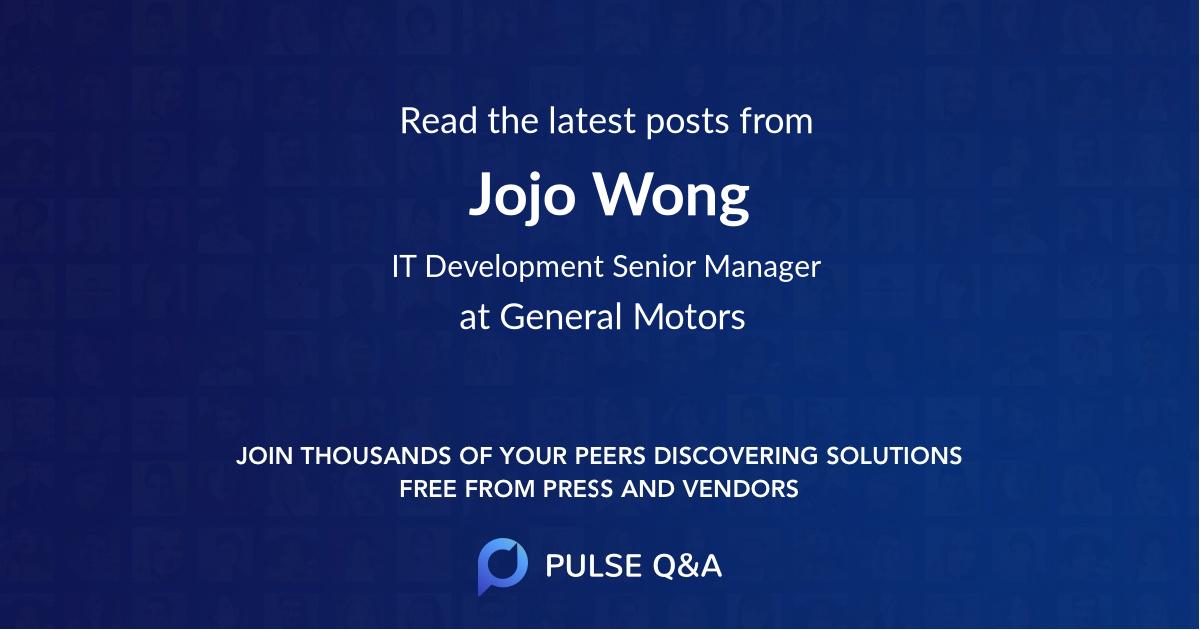 Jojo Wong