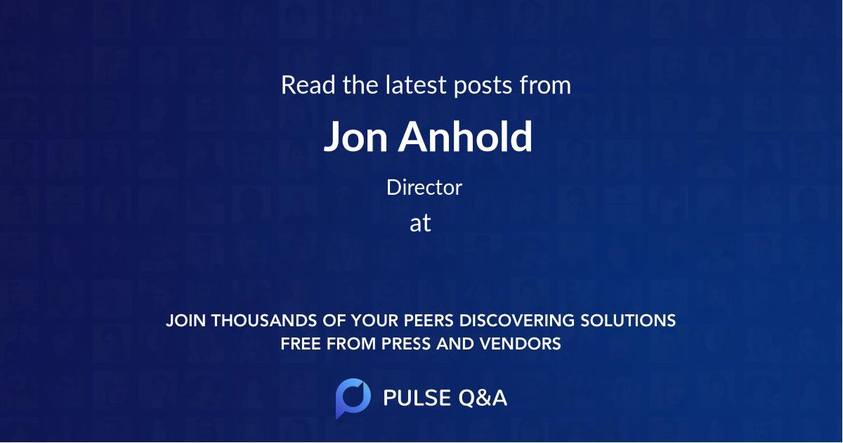 Jon Anhold