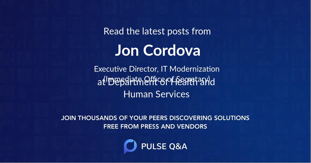 Jon Cordova