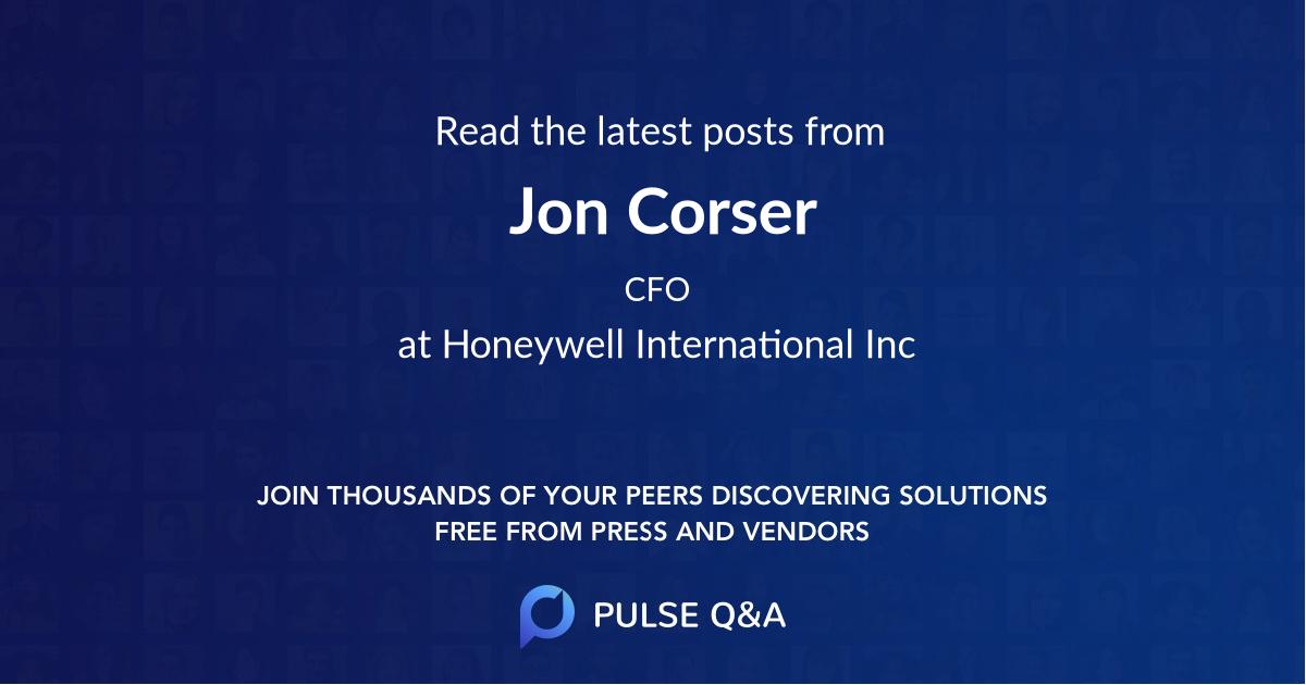 Jon Corser