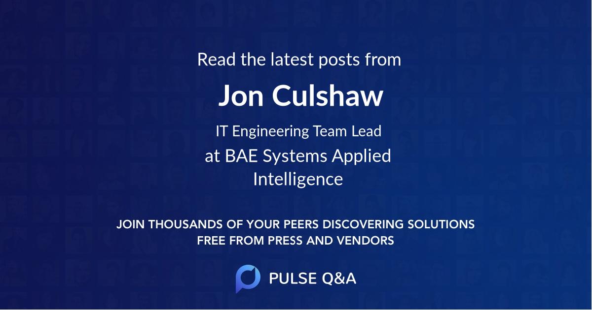 Jon Culshaw