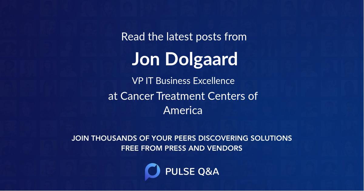 Jon Dolgaard