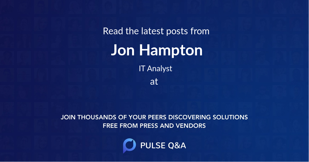 Jon Hampton