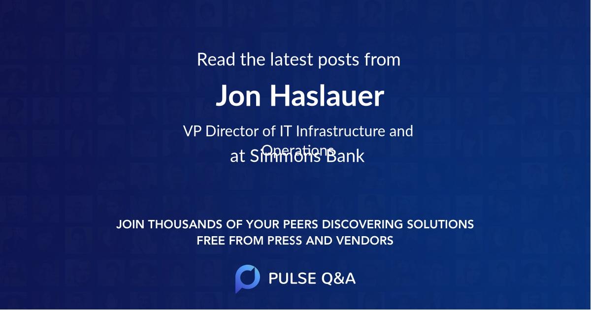 Jon Haslauer