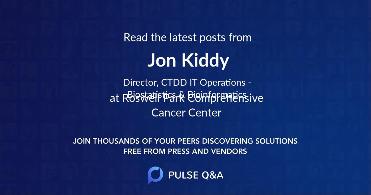 Jon Kiddy