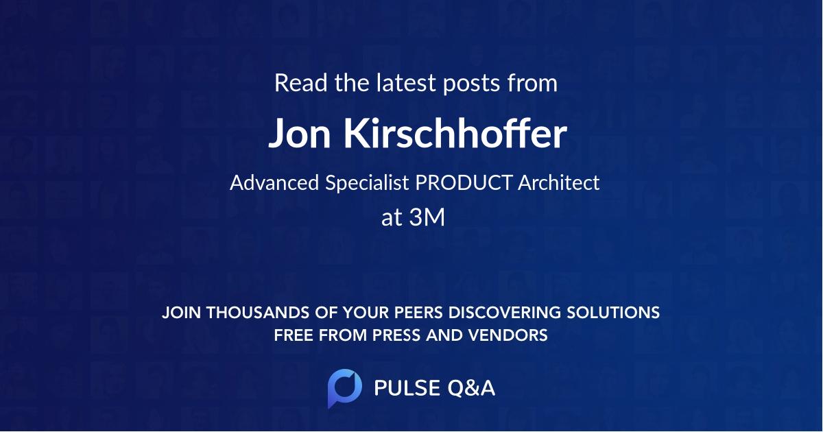 Jon Kirschhoffer