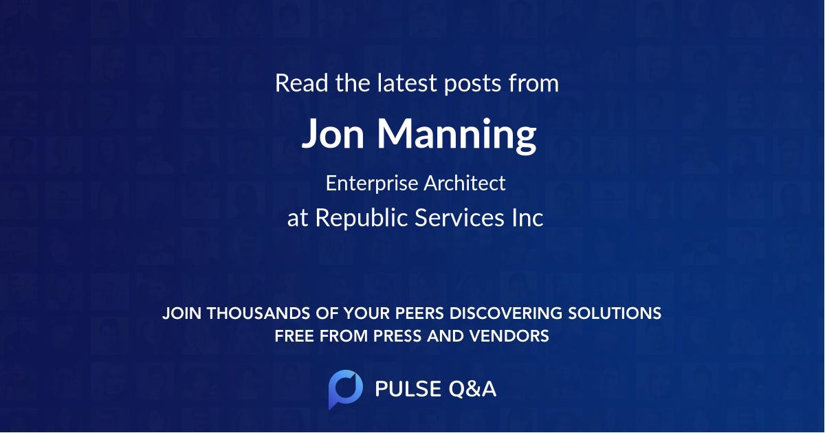 Jon Manning