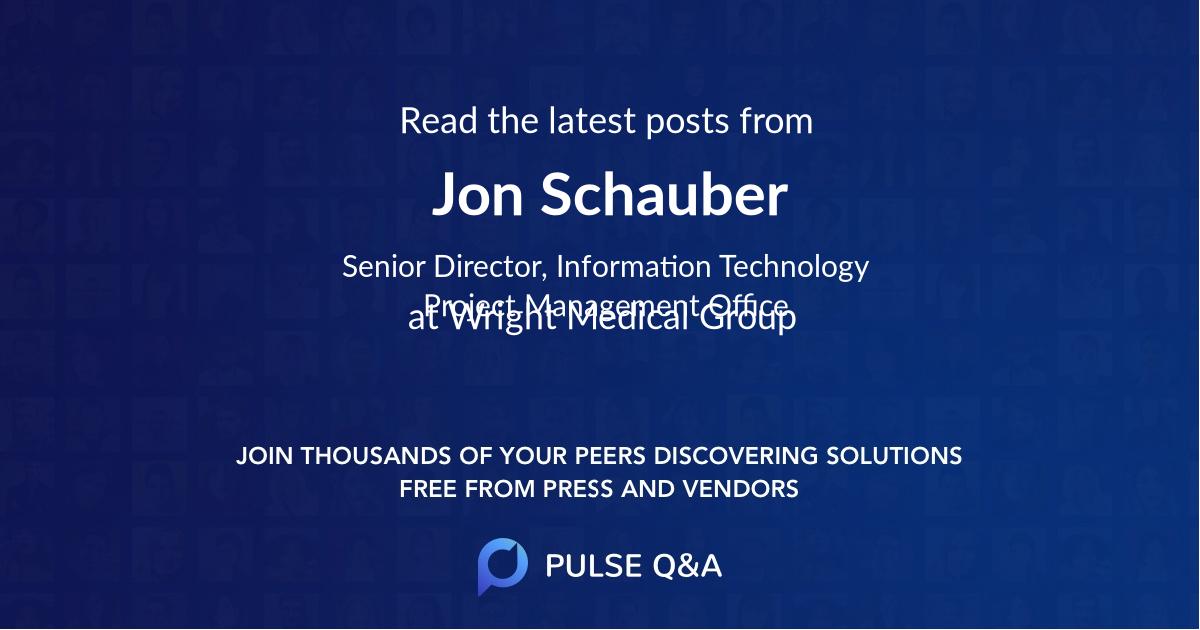 Jon Schauber