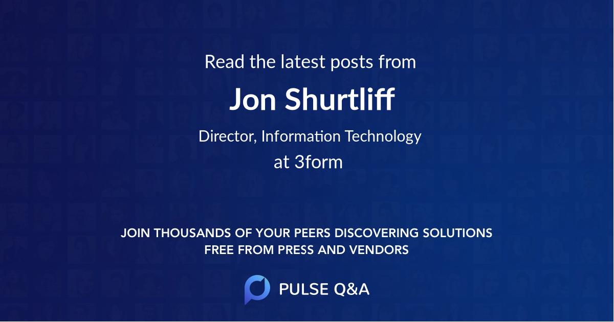 Jon Shurtliff