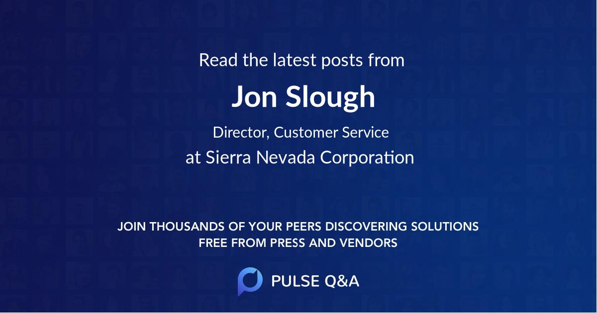 Jon Slough
