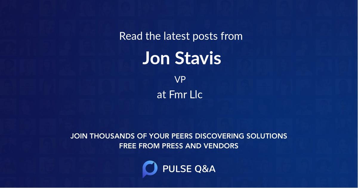 Jon Stavis