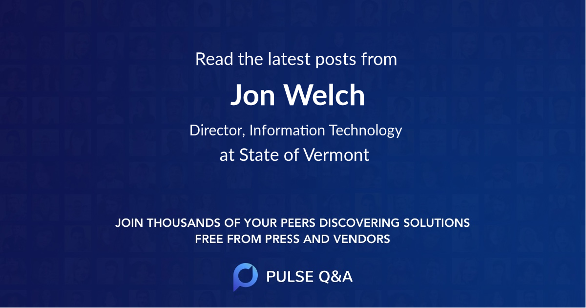 Jon Welch