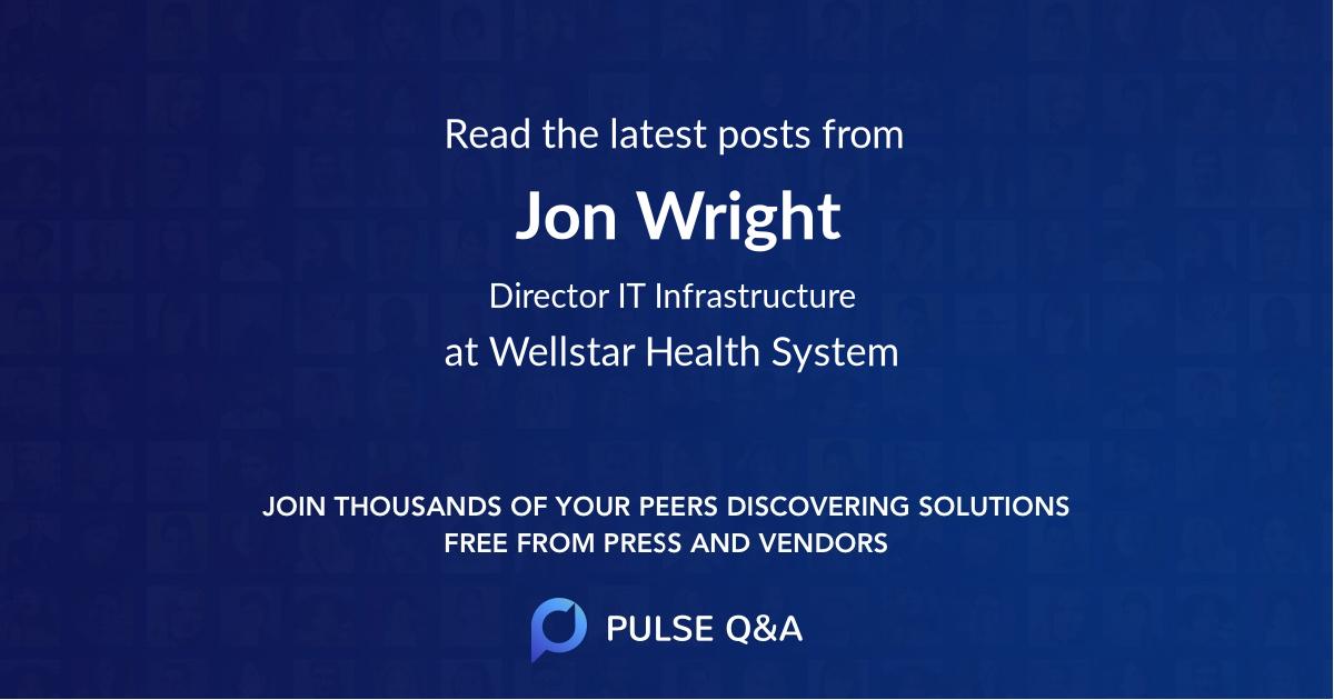 Jon Wright