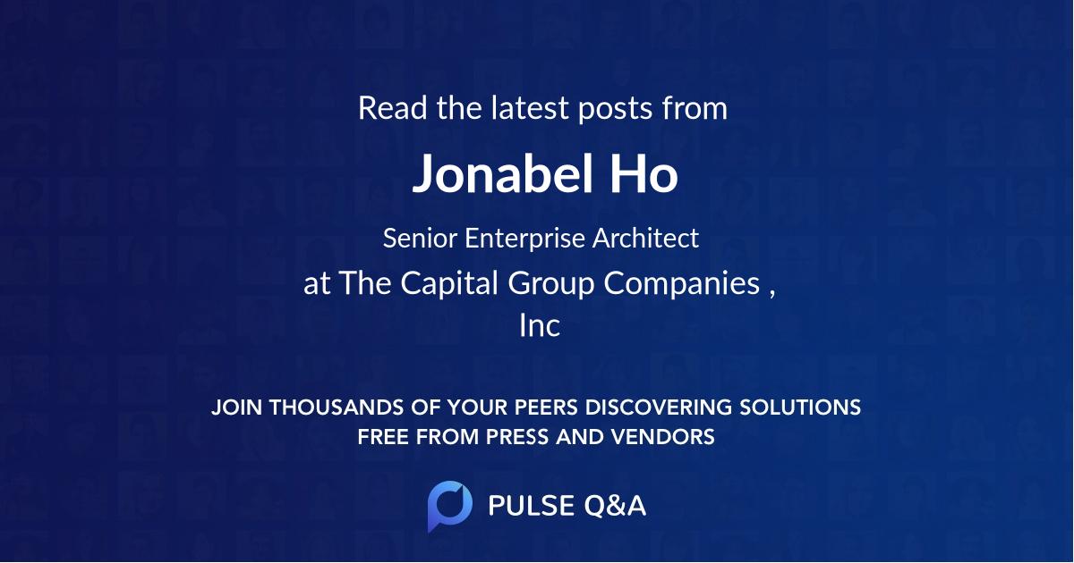 Jonabel Ho