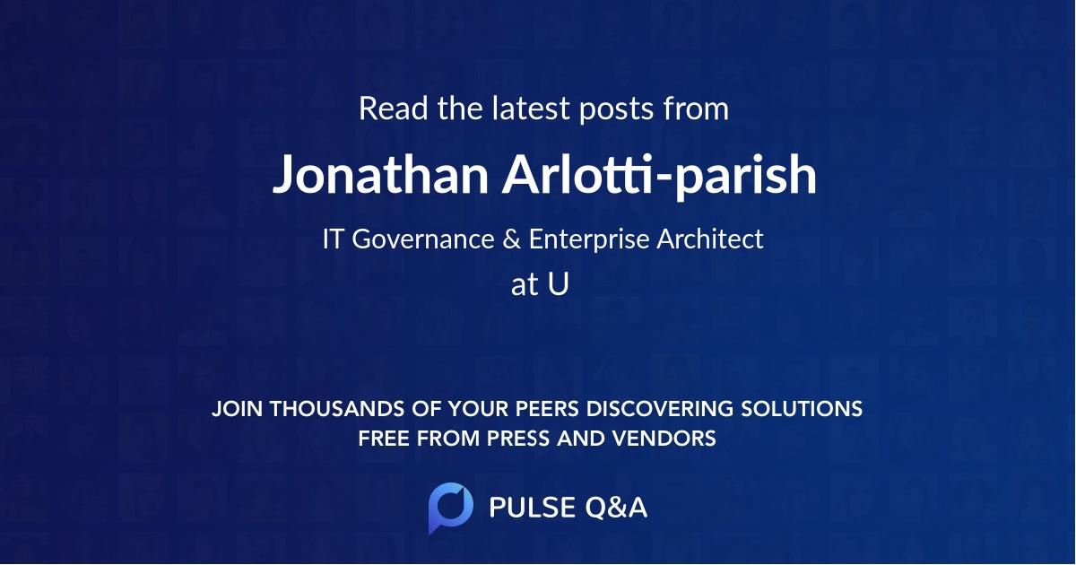 Jonathan Arlotti-parish