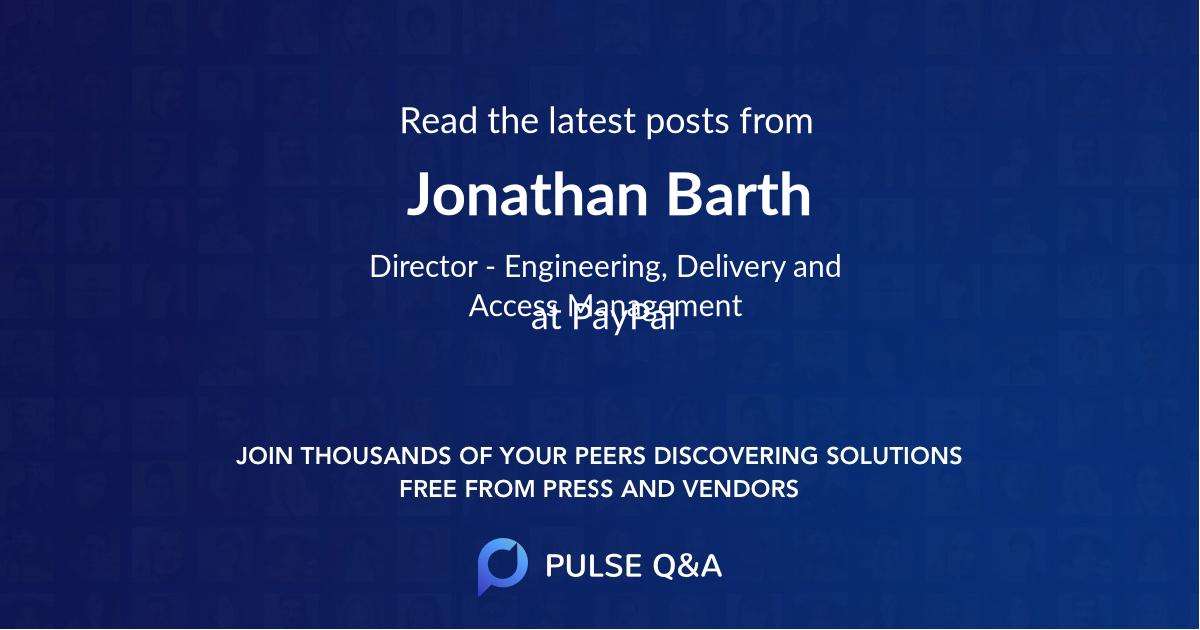 Jonathan Barth