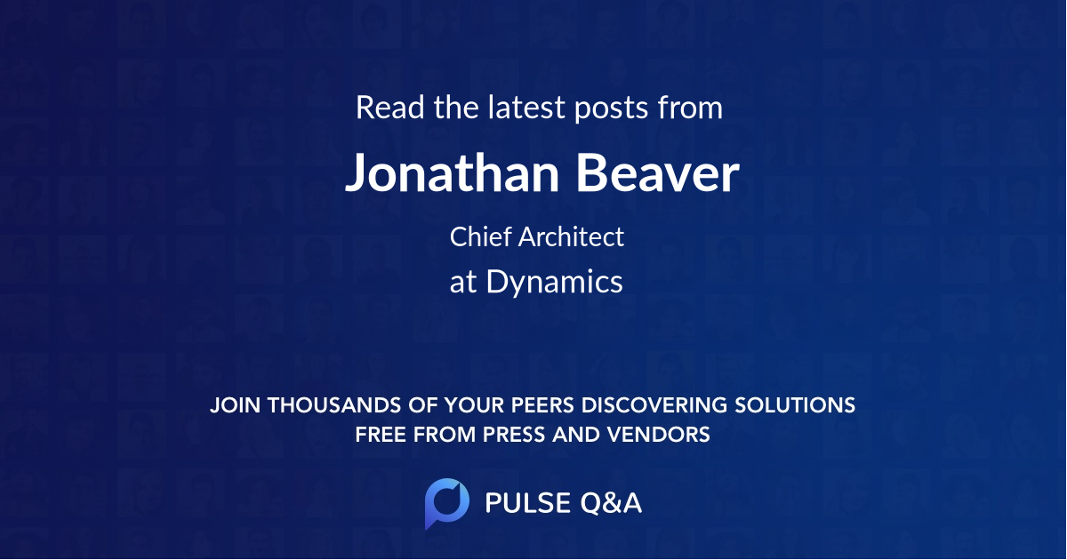 Jonathan Beaver