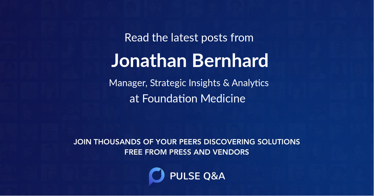 Jonathan Bernhard