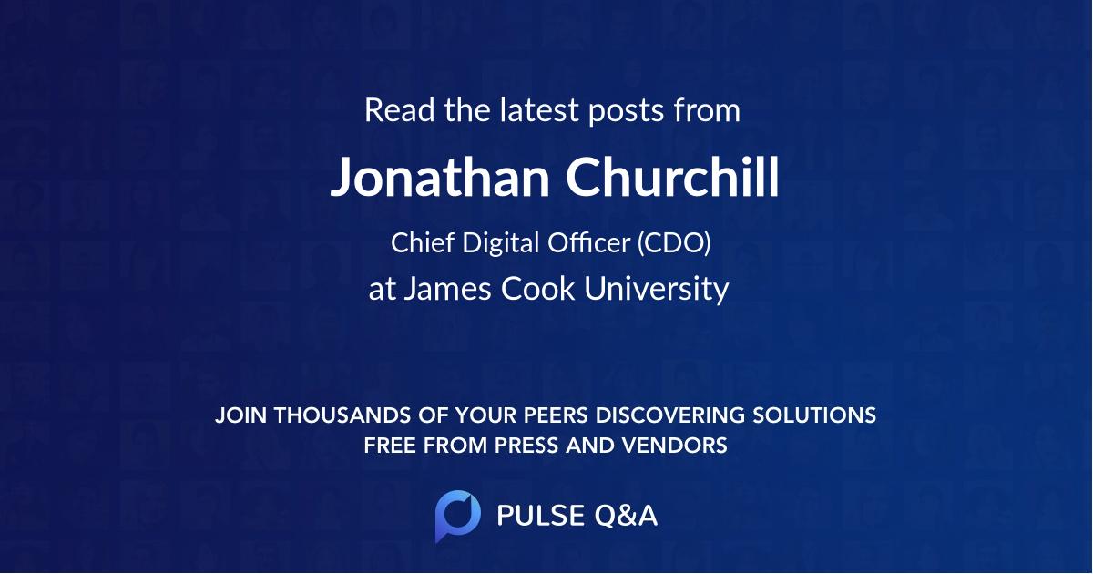 Jonathan Churchill