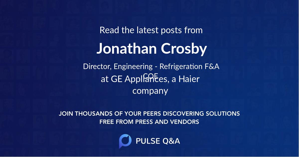 Jonathan Crosby