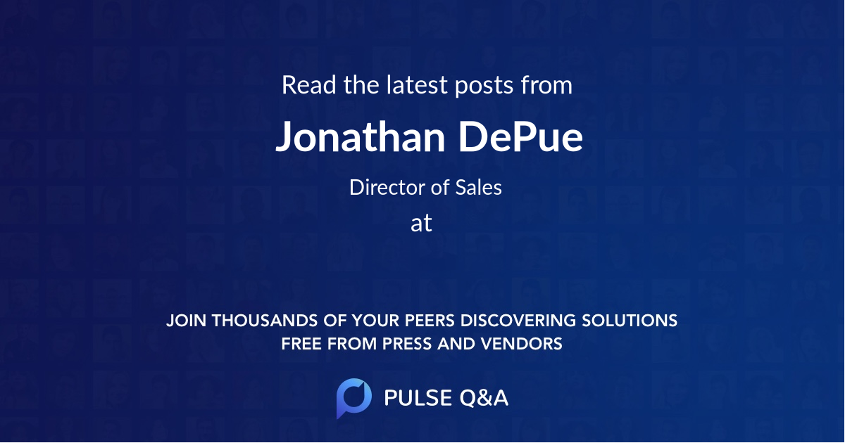 Jonathan DePue