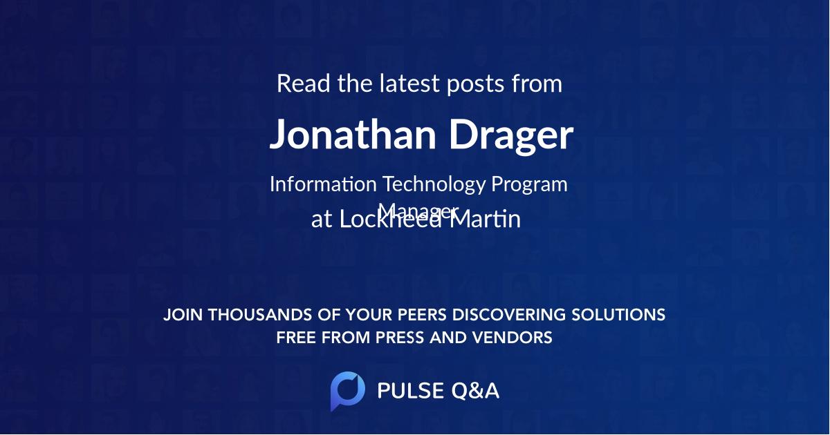 Jonathan Drager