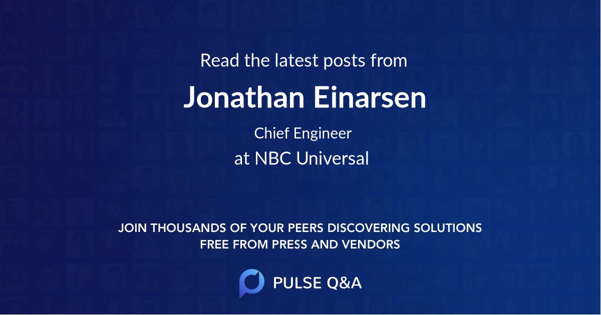 Jonathan Einarsen