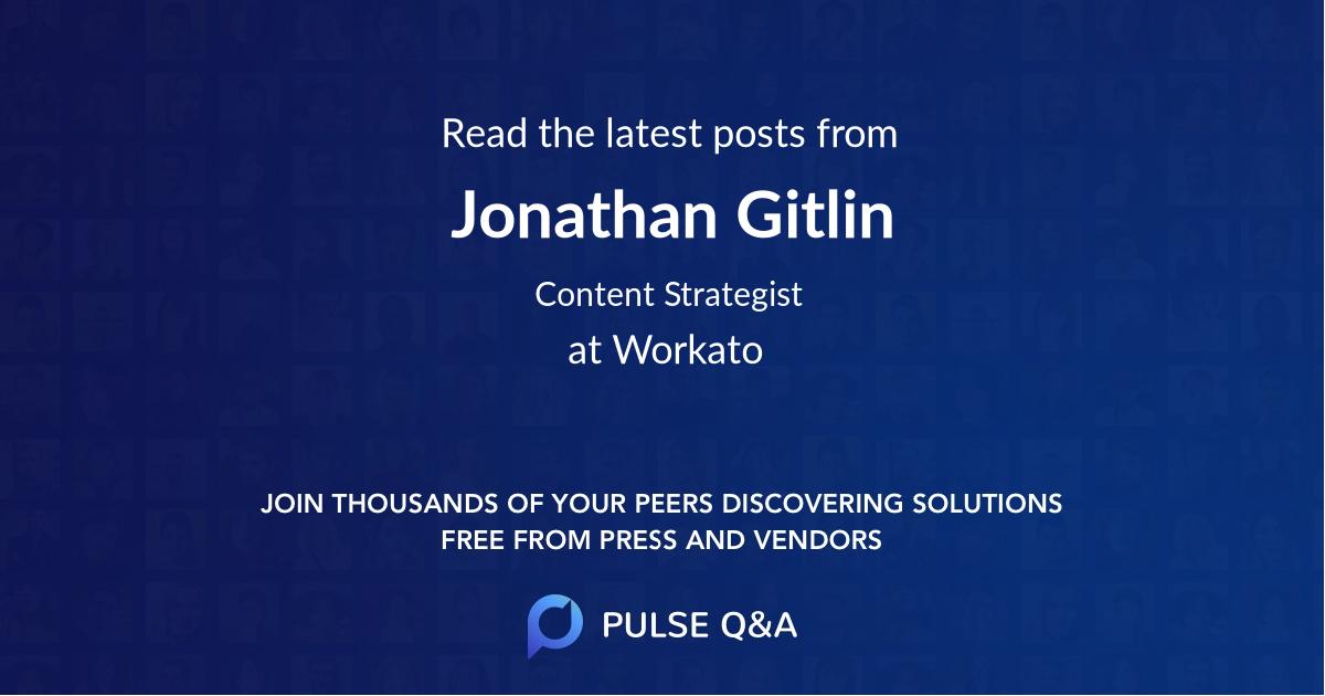 Jonathan Gitlin