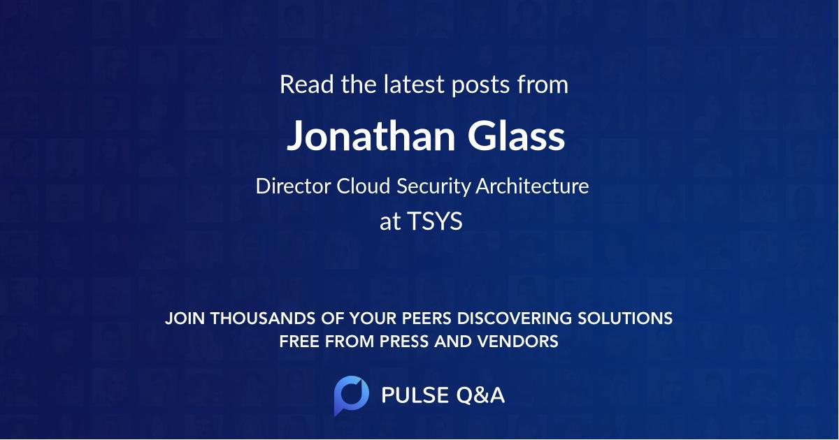 Jonathan Glass