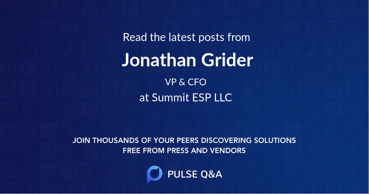 Jonathan Grider