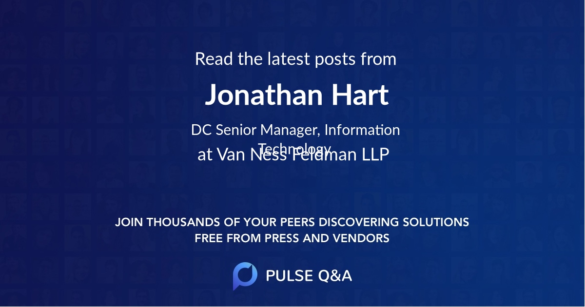 Jonathan Hart