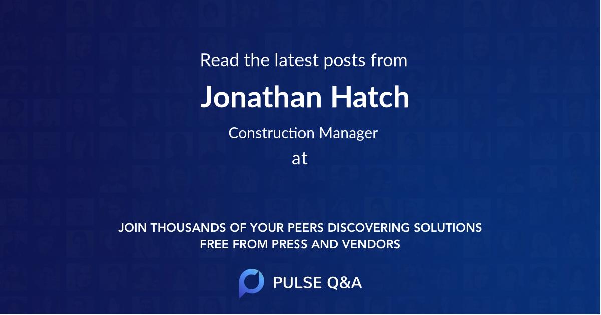 Jonathan Hatch