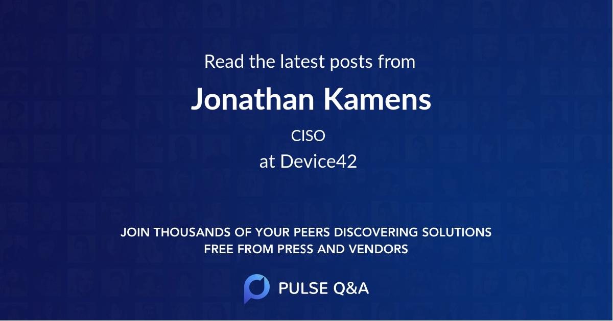 Jonathan Kamens