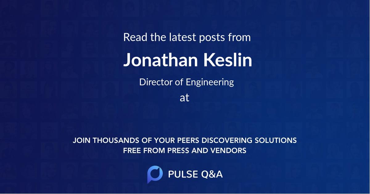 Jonathan Keslin