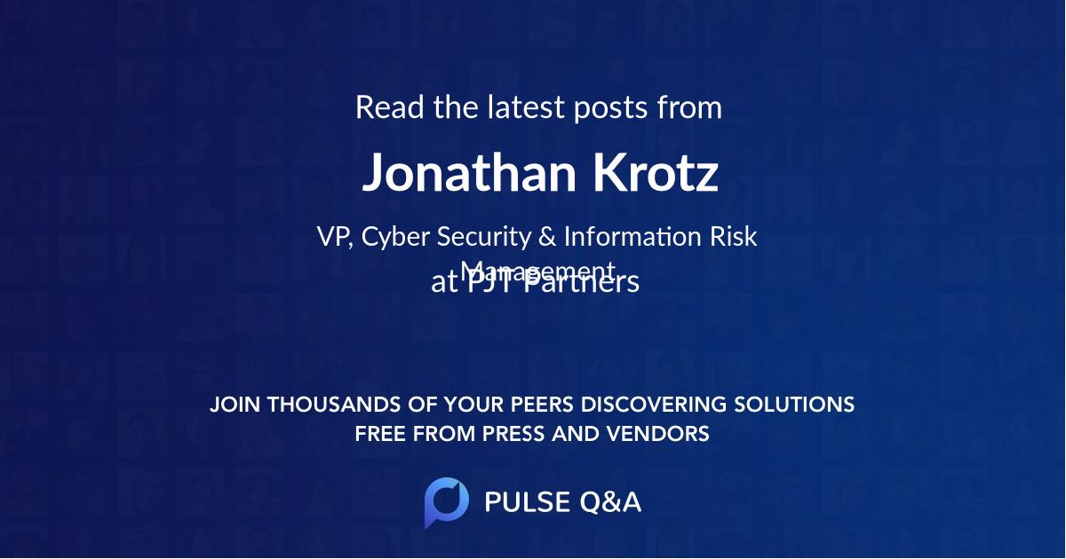 Jonathan Krotz
