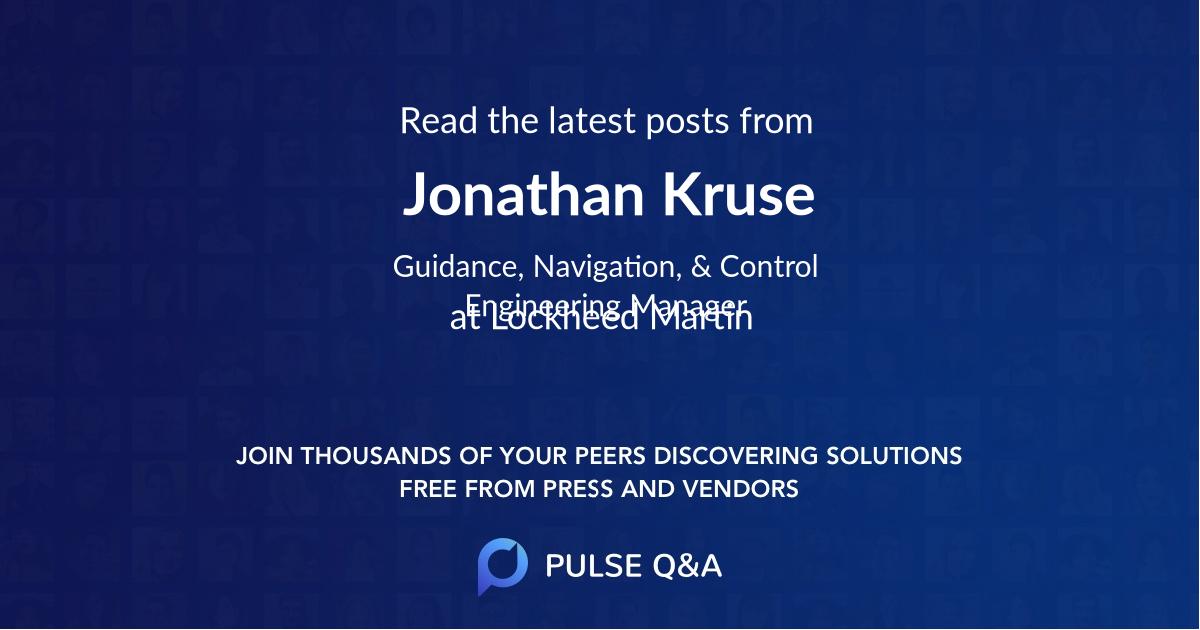 Jonathan Kruse